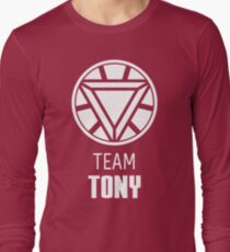 Team Tony Long Sleeve T-Shirt