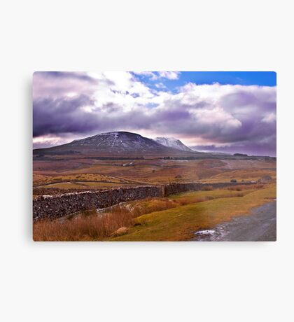 There's a Storm Commimg Metal Print