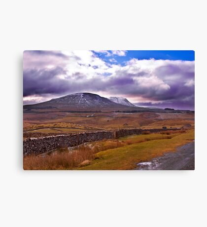 There's a Storm Commimg Canvas Print