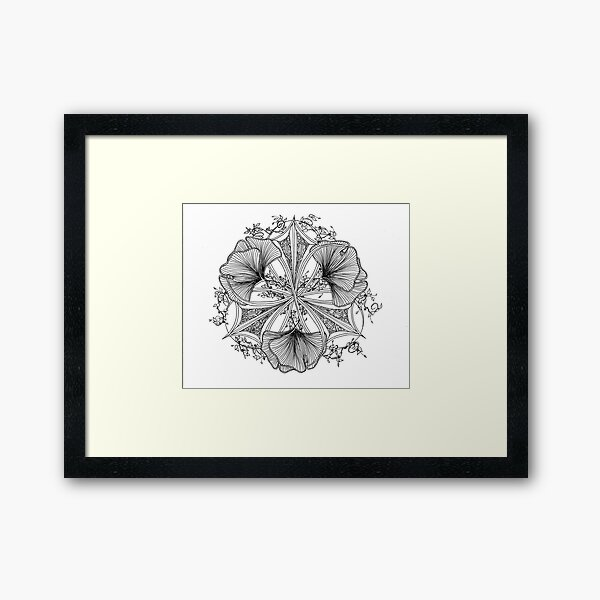 Leaves of the Ginkgo Framed Art Print