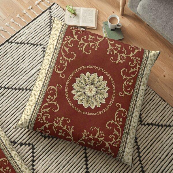Kyrgyz felt carpet ala kiyiz (motley felt) Киргизский войлочный ковер ала-кийиз (пестрый войлок) Floor Pillow
