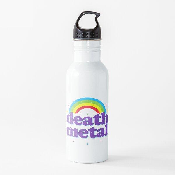 Death Metal Rainbow Water Bottle