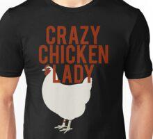Crazy Chicken Lady Unisex T-Shirt