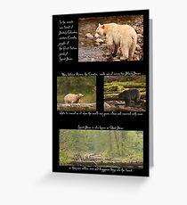 Legend of the Spirit Bear Greeting Card
