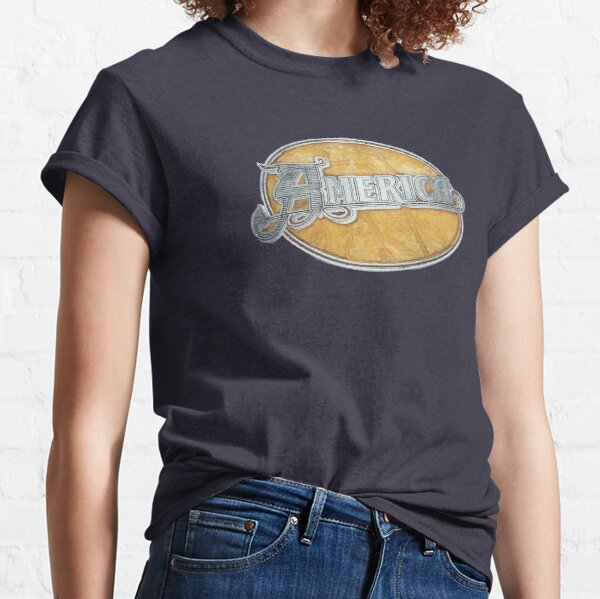 America: Painted Logo Classic T-Shirt