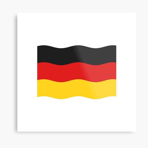 Simple Flag of Germany Metal Print