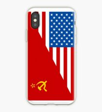 Man From Uncle Flag Mashup iPhone Case