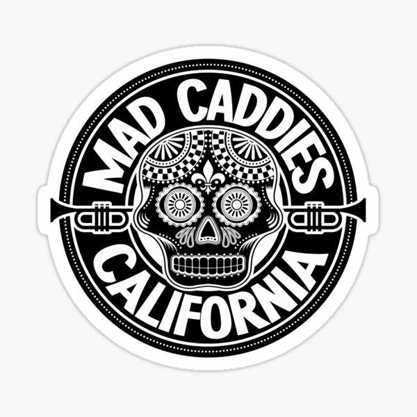 Less Punk Mad Sticker