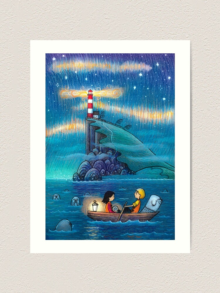 Alternate view of Song of the sea Art Print