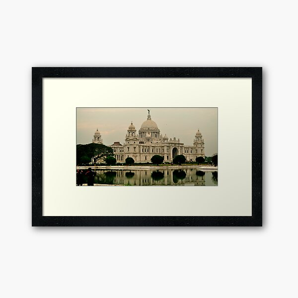 Victoria Memorial Hall Framed Art Print
