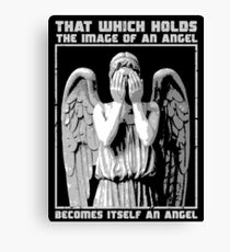 The image of an angel. Canvas Print
