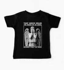 The image of an angel. Baby Tee