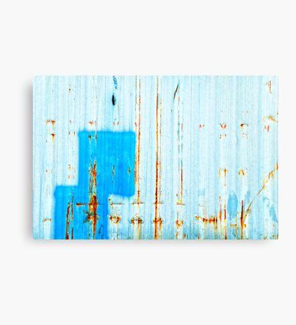 Azzurro - Blue Canvas Print