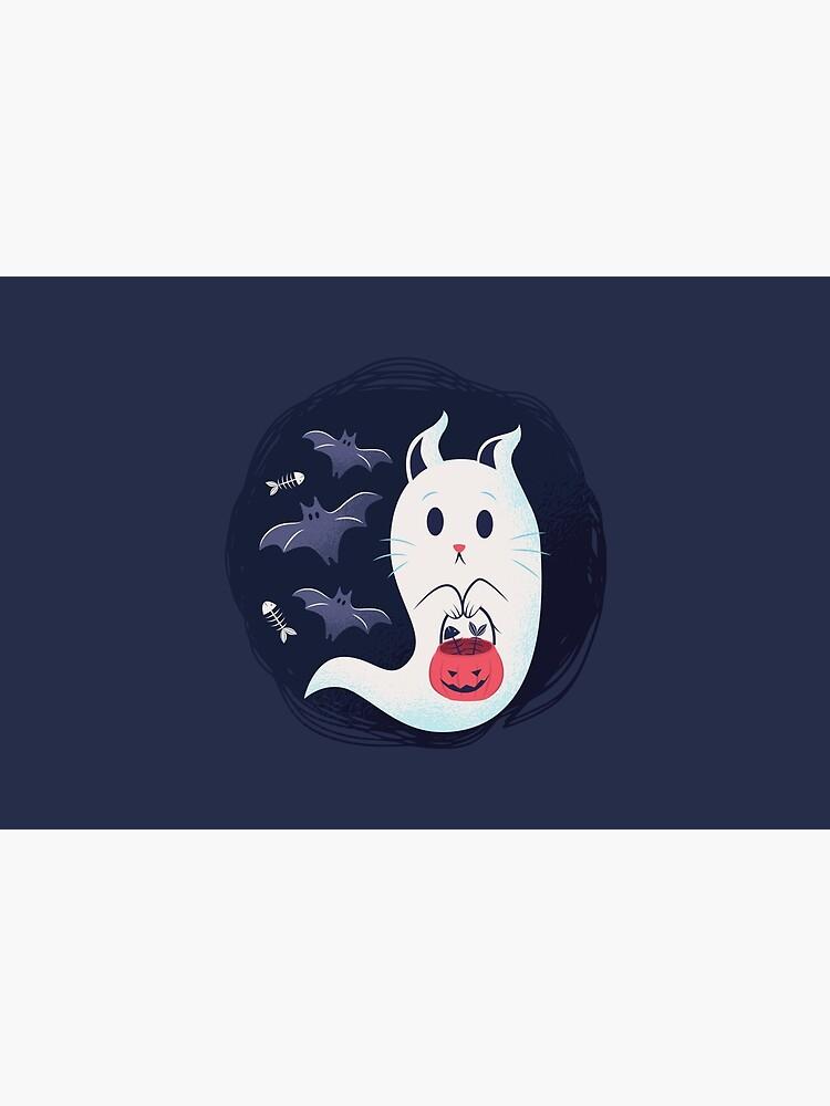 Ghost cat by Vanditdesigns