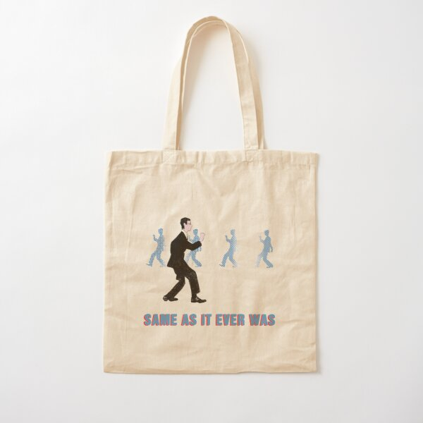 Talking Heads - Once In A Lifetime Walk - Same As It Ever Was Cotton Tote Bag