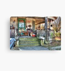Everything's antique Canvas Print