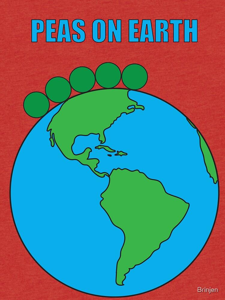 Peas On Earth by Brinjen