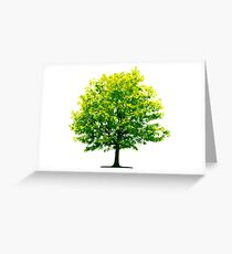 Tree Save the Planet Greeting Card