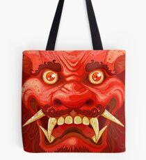 Bolsa de tela Happy Lion (Red)