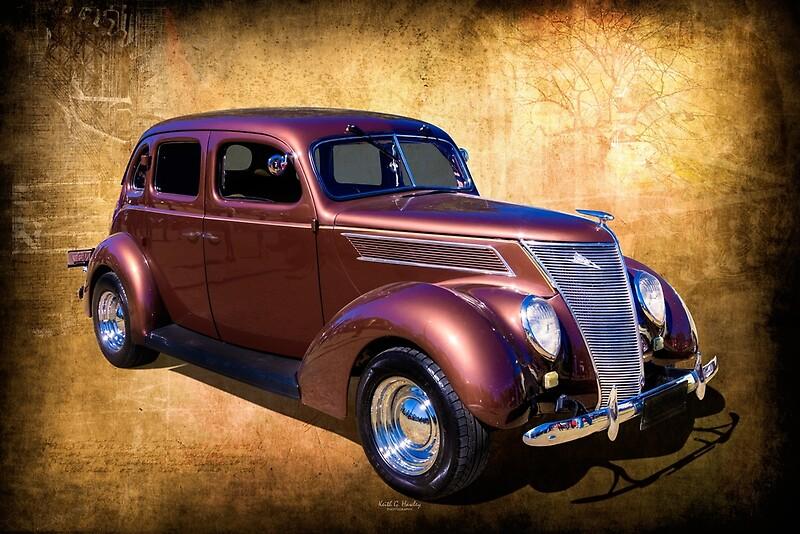 '1937 Streetrod' by Hawley Designs