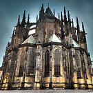HDR Saint Vitus Cathedral by Gabor Pozsgai