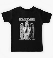 The image of an angel. (Bloody Version) Kids Tee