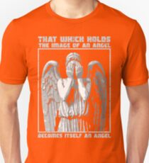 The image of an angel. (Bloody Version) Unisex T-Shirt