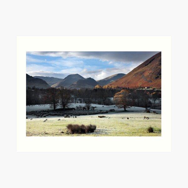 Autumn InThe Newlands Valley Art Print