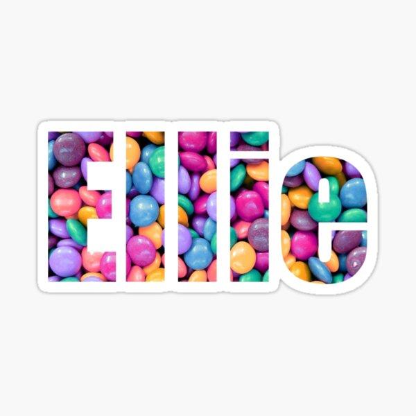 Ellie - personalized sweetie design Sticker