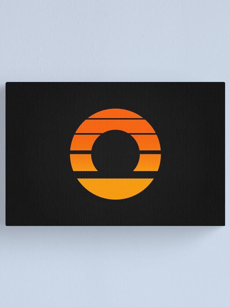 Alternate view of Aperture Science (Retro) Logo Canvas Print