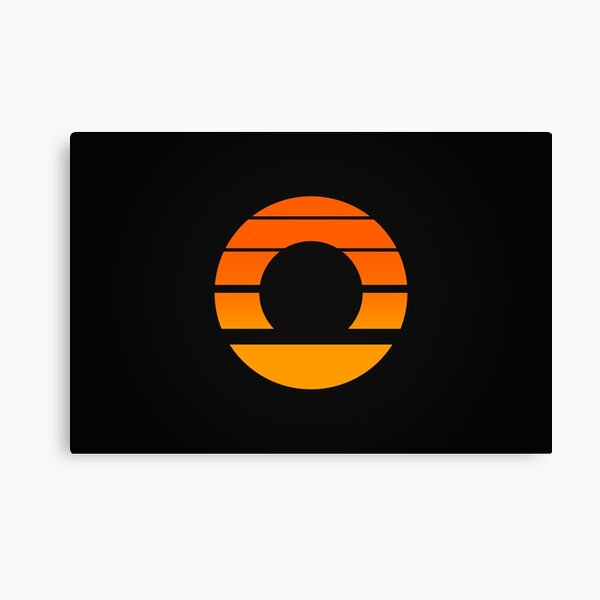 Aperture Science (Retro) Logo Canvas Print