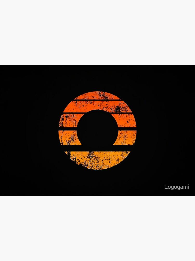Aperture Science (Retro) Logo · Distressed by Logogami