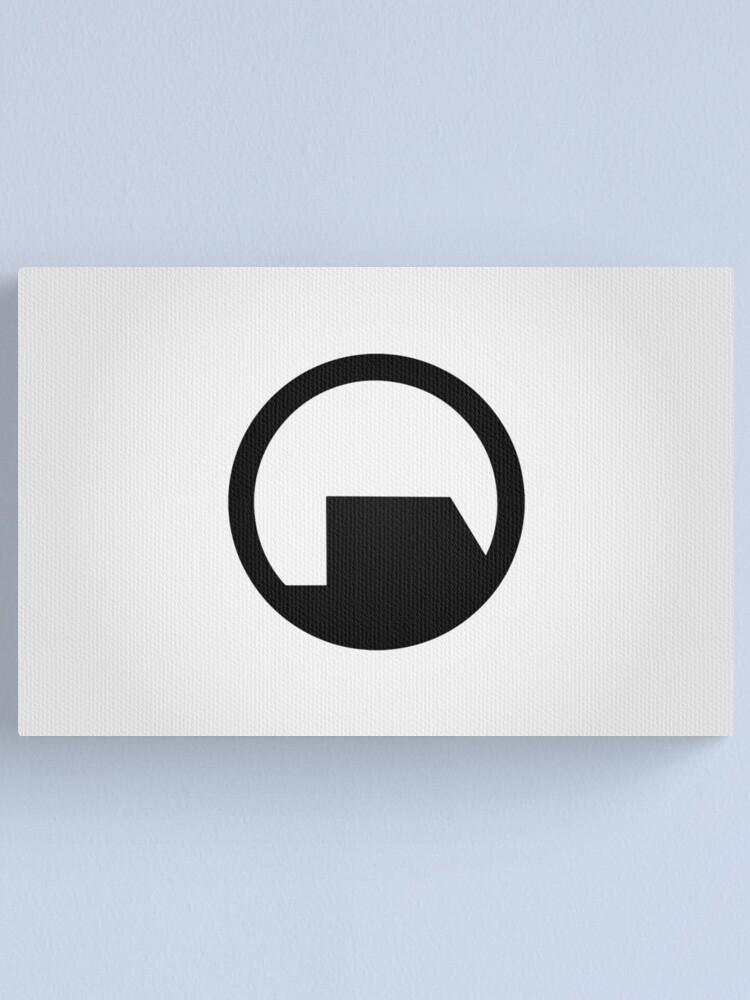 Alternate view of Black Mesa Logo Canvas Print
