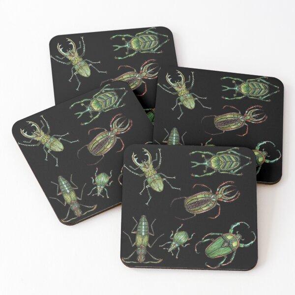 Beetle mania Coasters (Set of 4)