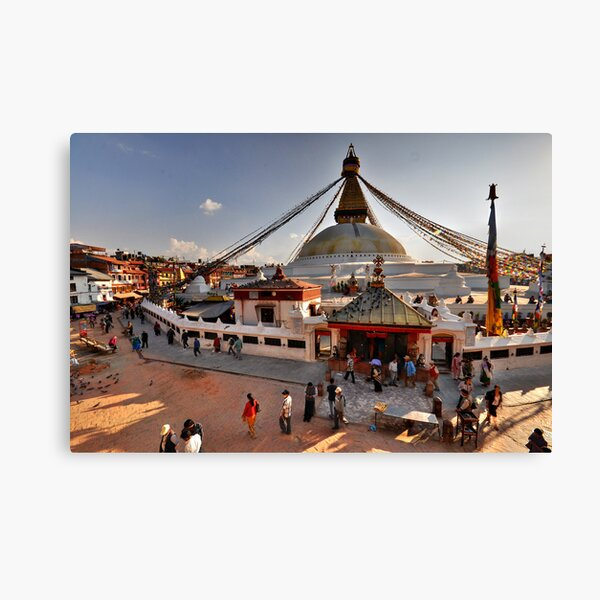 Bodnath Stupa Canvas Print