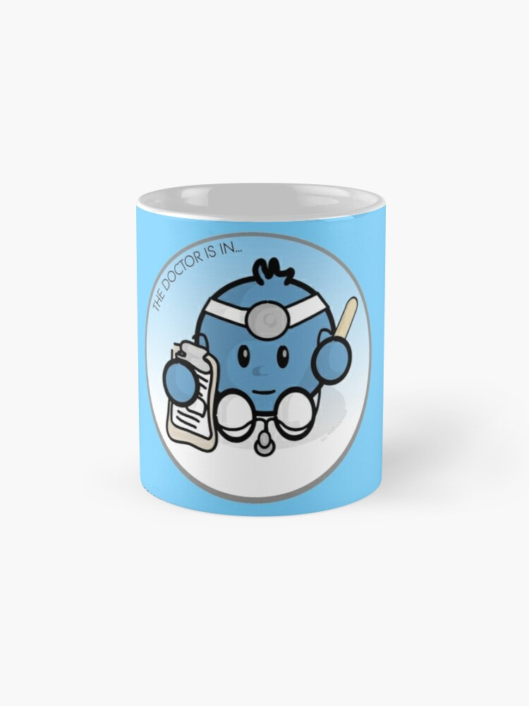 Alternate view of The Doctor is in Mug