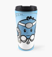 The Doctor is in Travel Mug