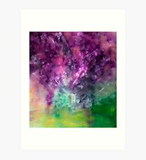 Purple Vortex Art Print