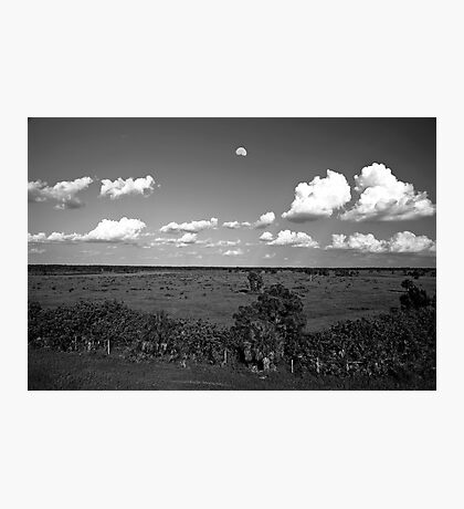 Moon Over Venice Photographic Print