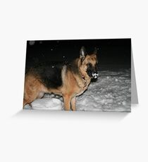 Chilly Night Greeting Card