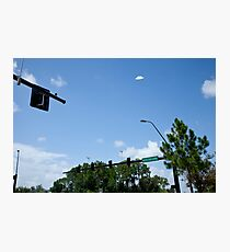 Flying Saucer Photographic Print