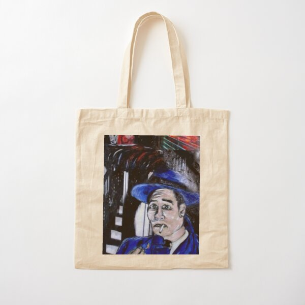 Noir Danger Cotton Tote Bag