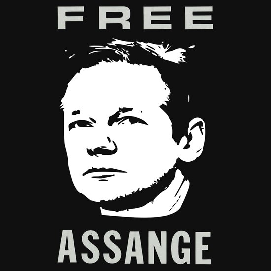 TShirtGifter presents: Free Julian Assange