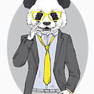 «Panda smoking cigarette» de jurisnik