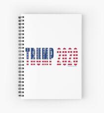 Trump 2020 Flag Spiral Notebook