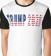Trump 2020 Flag Graphic T-Shirt