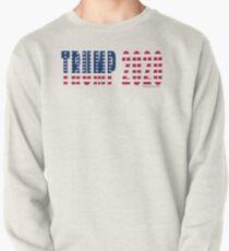 Trump 2020 Flag Pullover Sweatshirt