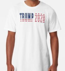 Trump 2020 Flag Long T-Shirt
