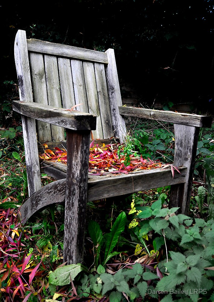 No one wants to sit here anymore :o( by Darren Bailey LRPS