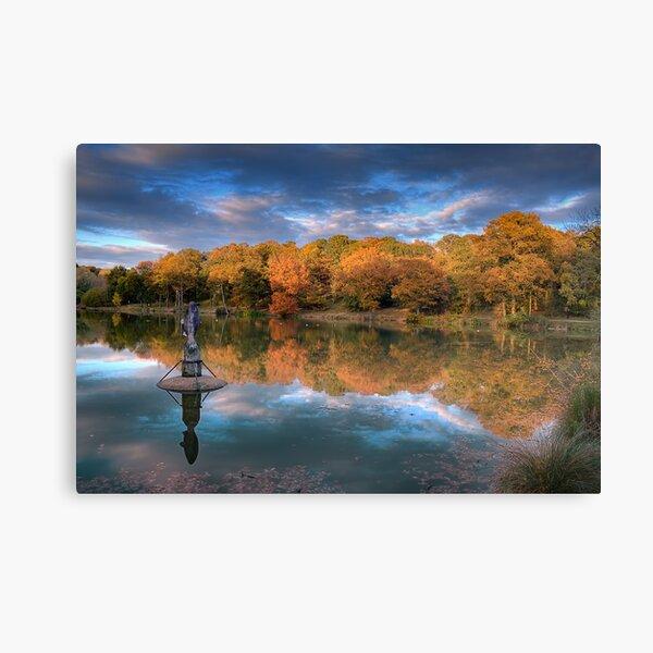 South Thorden Park Lake Canvas Print